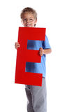 Letter E Stock Photography