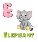 Letter E vector illustration