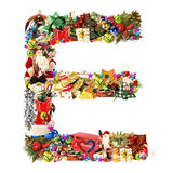 Christmas alphabet letter o stock photos images for Letter t decoration