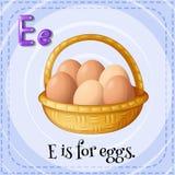 Letter E Stock Photos