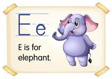Letter E Stock Images