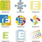 Letter E Logo Stock Photos