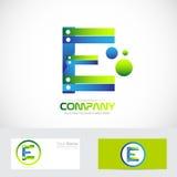 Letter E logo concept 3d Stock Photo
