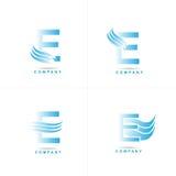 Letter E logo Royalty Free Stock Photography