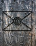 Letter of the e-mail Stock Images