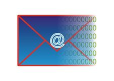 Letter e-mail Stock Images