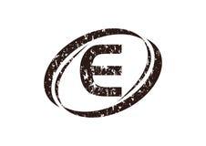 Letter E Rough Logo. Logo Design Template Vector Stock Photography