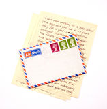 Letter from England Stock Photography