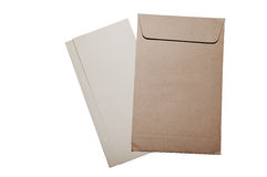 Letter and envelope Royalty Free Stock Photography
