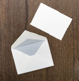 Letter and envelope Stock Photos