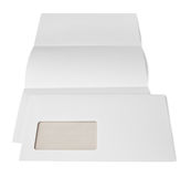 Letter and envelope Stock Photography