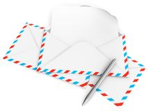 Letter envelope Stock Photos