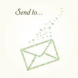Letter  envelope mail Stock Image