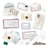 Letter and envelope. Vector icon for your design stock illustration