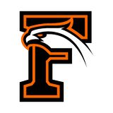 Letter F with eagle head. Great for sports logotypes and team mascots vector illustration
