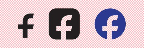 Letter f flat web icon or sign vector illustration