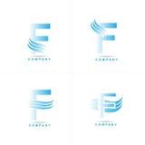 Letter F logo Stock Photos