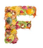 Letter F Stock Photography