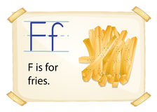 Letter F Royalty Free Stock Image