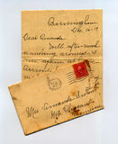 Letter From The Past Stock Photography