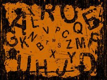 Letter Full Grunge Background Royalty Free Stock Photography