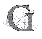 Letter G Royalty Free Stock Photo