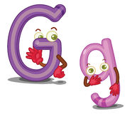 The letter G Royalty Free Stock Photo