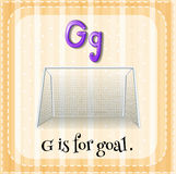 Letter G Royalty Free Stock Photography