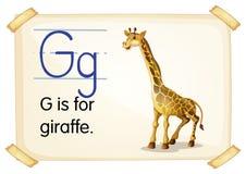 Letter G Stock Photo