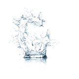 Letter G of water alphabet Royalty Free Stock Image