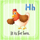 Letter H Royalty Free Stock Photos