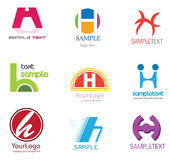 Letter H Logo Royalty Free Stock Images
