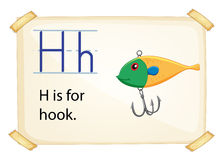 Letter H Royalty Free Stock Images
