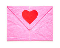 Letter heart shape Royalty Free Stock Photography
