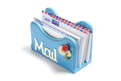 Letter Holder Stock Image