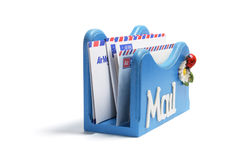 Letter Holder Royalty Free Stock Photos