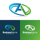 A Letter Icon and Logo Royalty Free Stock Photo
