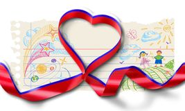 Letter. Invite you decoration string compliments picture stock photography
