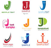 Letter J Logo stock illustration
