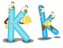 The letter K Stock Photos