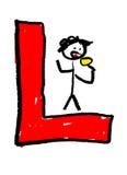 Letter L Stock Image