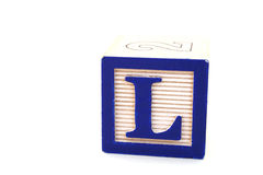 Letter l Royalty Free Stock Image