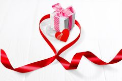 Letter. Invite you decoration string compliments white royalty free stock image