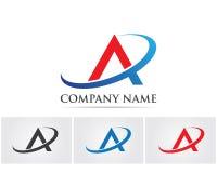 A Letter Logo Business Template Vector icon.  Stock Photos