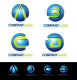 Letter Logo Designs Royalty Free Stock Photography