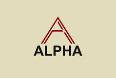 Letter A Logo Icon Design Template Element Stock Images