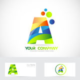 Letter A logo Royalty Free Stock Image