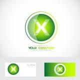 Letter X logo stock illustration