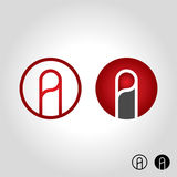 Letter a logo, icon and symbol vector illustration vector illustration
