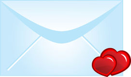 Letter Love Stock Photography